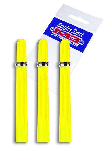 Empire Dart Schaft-Set M3 Nylon mittel Neongelb