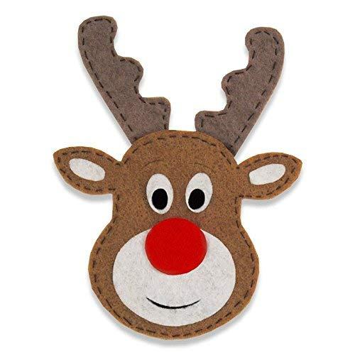 Sizzix Bigz Die 662974, Reindeer #4, One Size, Paper