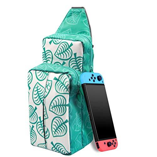 Bolsa de viaje para Nintendo Switch - LYCEBELL Mochila de almacenamiento de Bolsa de hombro para Switch JoyCon Grip, Switch Consola y Otros Acccesorios (Azul)
