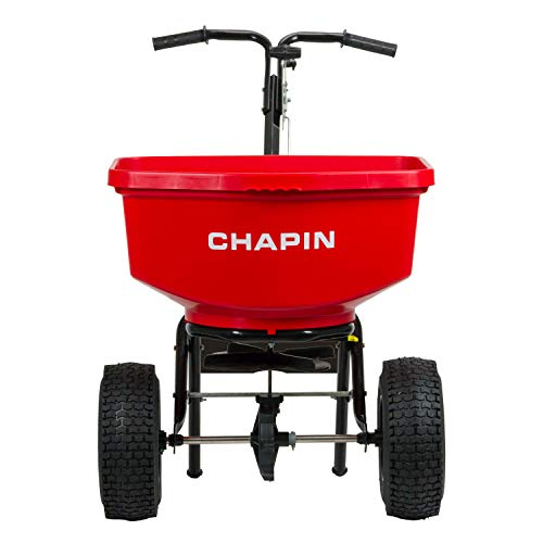 Chapin International 8303C Chapin Professional SureSpread Spreader 100 Lb Capacity 1 Red