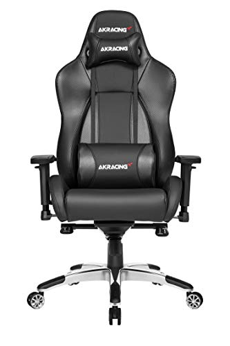 AKRACING Gaming Chair Gamingchair, PU-Kunstleder, Master Premium Carbon/Schwarz
