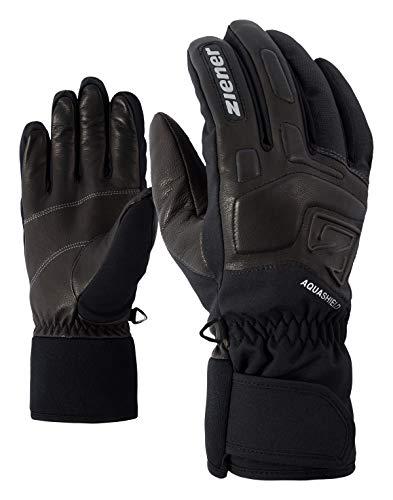 Ziener Erwachsene GLYXUS AS(R) Glove Alpine Ski-handschuhe/Wintersport | Wasserdicht, Atmungsaktiv, grau (grey iron tec), 8.5