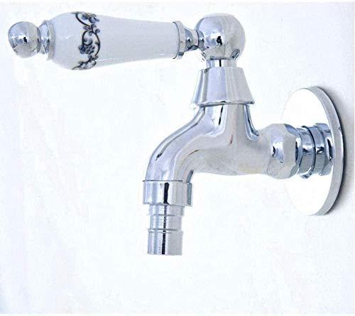 BEISUOSIBYW Co.,Ltd Grifo de jardín Grifo Exterior Pulido Grifo de jardín/Lavadora/Grifo de Agua fría para Fregadero