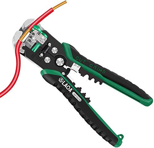 LAOA Spelafili Automatici Strumenti Tagliafili Pinze Spelafili Cavo Elettrico Per Elettricista Crimpatura