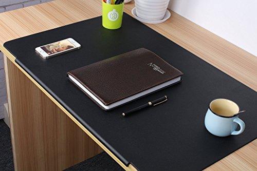 Clear Desk Pad,Non Slip Gaming Writing Mat,Waterproof PVC Office Large Mouse Pad,Desk Protector Desk mat for Laptop Computer Desktop,90x45cm