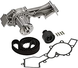 Timing belt kit-Timing belt kit with water pump-Gates timing
