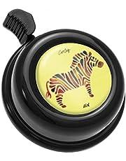 Liix Fahrradklingel Colour Bell, Zebra - Schwarz, cb21