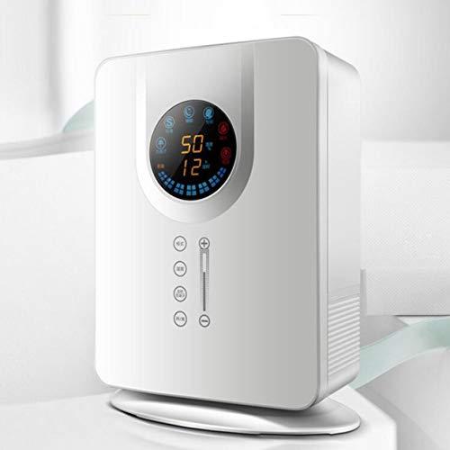 huasa 5L Humidificador ultrasónico e Inteligente,Boquilla de 360 °,Ultra Silencioso,Apagado Automático,Filtro Extra de Cerámica Fina,Vapor Controlable,Auto Apagado sin Agua,White