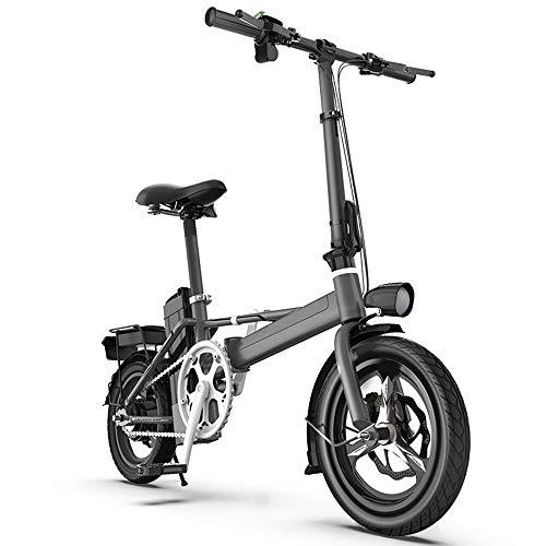 XMIMI Generation Driving Folding Elektrofahrräder Männer und Frauen Kleine Batterie Auto High Speed Magnesium Rad Version Dämpfung 48 V