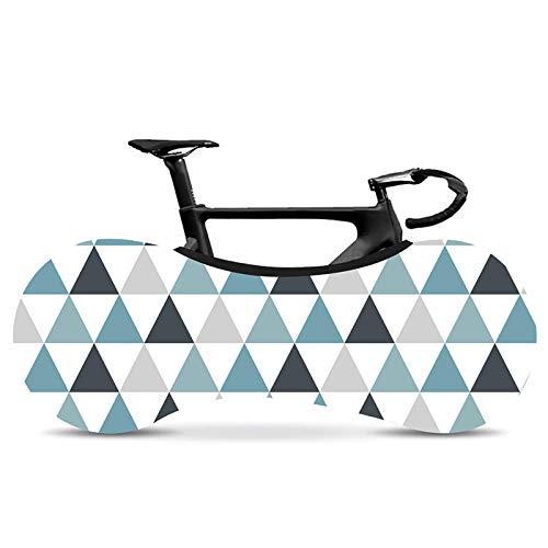 Funda Bicicleta Cubierta de bicicleta de la serie Corrugada Simple y con estilo Carretera cubierta de polvo de la cubierta de polvo de fibra elástica cubierta de bicicleta cubierta de polvo de neumáti