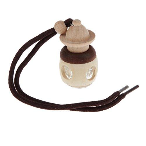 Baoblaze Pabellón 5 Ml Botella de Perfume de La Botella Vacía del Interior del Coche de Perfume Difusor de Fragancia - Pabellón, Individual