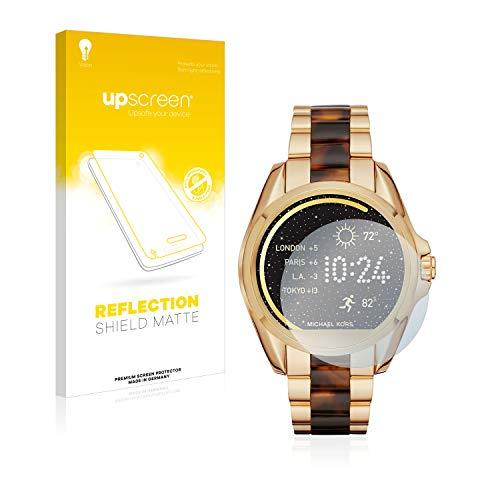 upscreen Entspiegelungs-Schutzfolie kompatibel mit Michael Kors Access Bradshaw/Grayson – Anti-Reflex Bildschirmschutz-Folie Matt