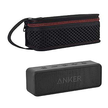 TXEsign Carrying Travel Case for Anker SoundCore/SoundCore 2 /Motion B Bluetooth Speaker Lycra Speaker Protective Bag