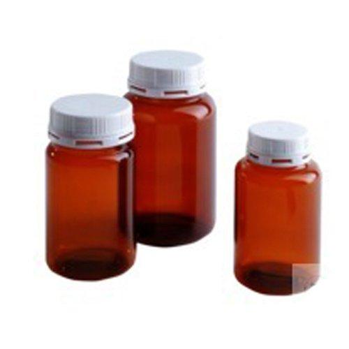 NeoLab 3-2132 fles met brede hals PETG, Gew S 58, 500 ml, bruin (pak van 10)