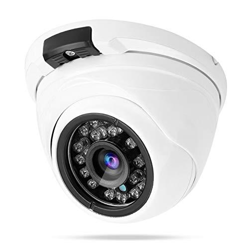 Cámara IP con cámara Domo IR 1080P de Carcasa metálica con 24 LED Infrarrojos adecuados para Interiores y Exteriores