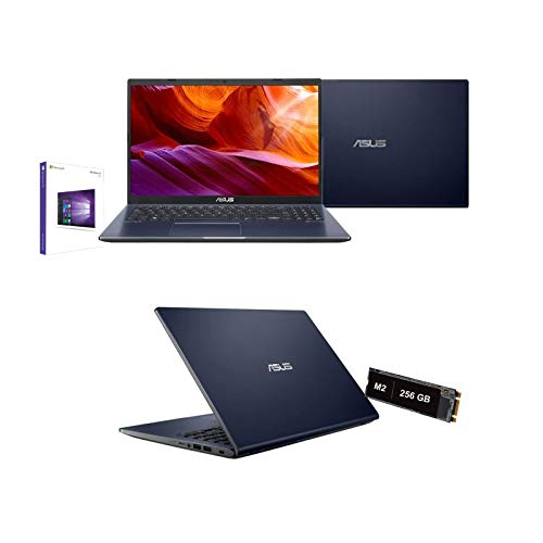 Notebook Pc Asus Intel Core i3-1005G1 3.4 Ghz 10 Gen. 15,6  Hd 1920x1080,Ram 12Gb Ddr4,Ssd Nvme 256 Gb M2,Hdmi,USB 3.0,Wifi,Bluetooth,Webcam,Windows 10 Pro,Nero,Antivirus