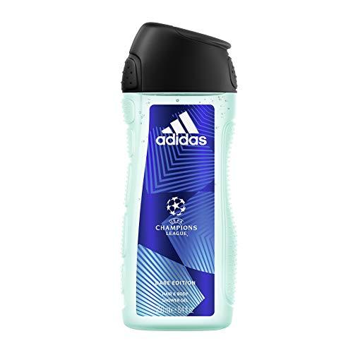 Adidas Uefa 6 Dare Edition Shower Gel für Herren, Erfrischendes und Dynamischen Duschgel Ideal für Nach Dem Sport, 1er Pack (1 x 250 g)