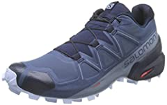 WATERPROOF TRAIL RUNNING SHOES: Featuring an aggressive grip, precise foothold, & Gore-Tex protection, the Salomon Speedcross 5 is the ideal shoe for runners who want to conquer soft, technical trails. GET ROUGH: Redesigned with deep, sharp lugs for ...