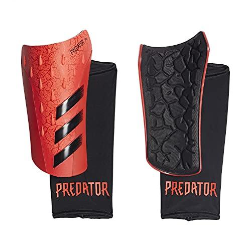 adidas PRED SG LGE Shin Guards, Unisex-Adult, Solar Red/Black/Red, Medium