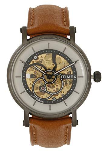 TIMEX 21 Jewel Automatic Analog Silver Dial Men's Watch-TWEG16713