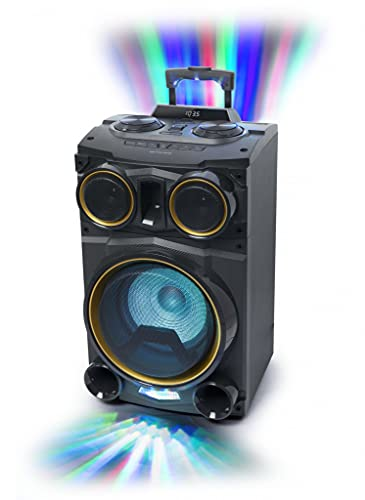 MUSE M-1990 DJ Altavoz de suelo PARTY BOX CD - Bluetooth - 100W - USB
