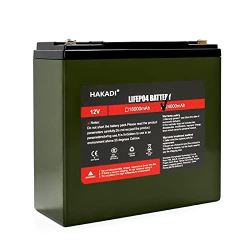 Batería portátil de litio fosfato 12 V 24 Ah Lifepo4, apta para scooters, coches de golf, carritos, equipos médicos y sistemas solares