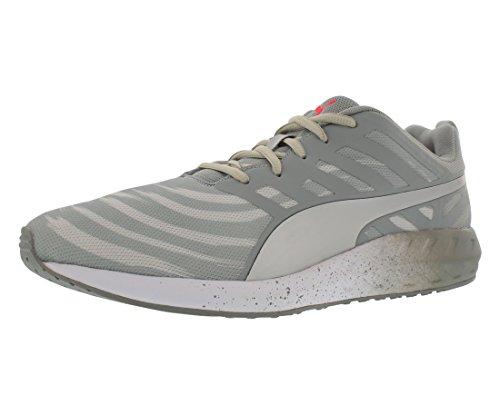 PUMA New Men's Flare Graphic Running Shoe Quarry/White 8