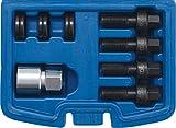 BGS 8692 | Juego de reparación de roscas para pernos de la rueda y tuercas de rueda | M12 y M14 | 8 piezas