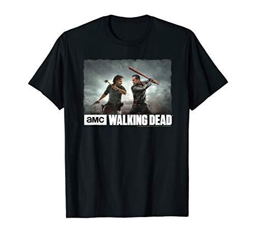 The Walking Dead Rick & Negan Face Off T-Shirt