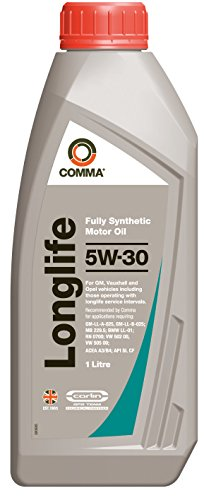 Comma GML1L Long Life 5W-30 synthetische motorolie 1 L