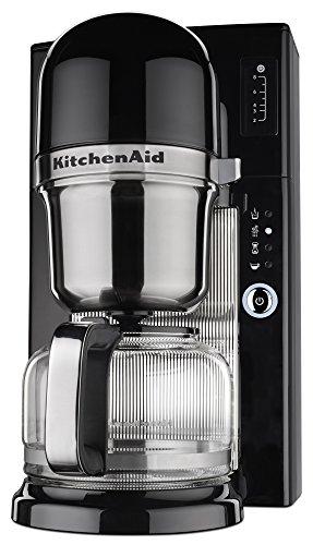 KitchenAid KCM0801OB Pour Over Coffee Brewer, Onyx Black