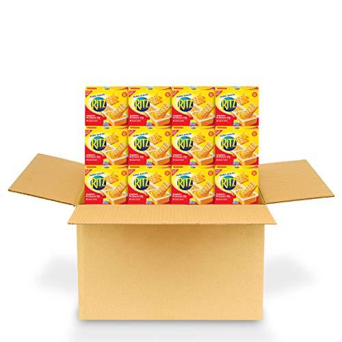 RITZ Handi-Snacks Crackers and Cheese Dip, 6 - 0.95 oz Packs (12 Boxes)