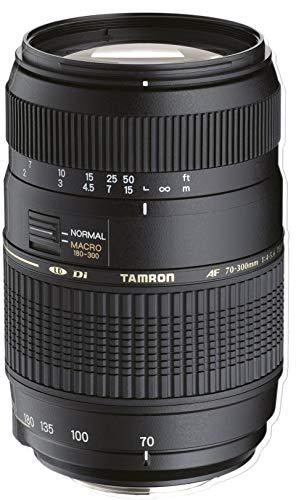 Tamron 70 300mm Di LD   Objetivo para Sony/Minolta (70 300mm, f/4 5.6, Macro, 62mm), Color Negro