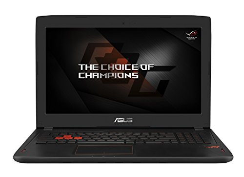 Asus ROG GL702VM-GC005T 43,9 cm (Full HD) laptop (Intel Core 1000 GB + 256GB SSD, NVIDIA GTX 1060 6GB VRAM, Win 10) zwart Intel Core i7-6700HQ 8 GB zwart