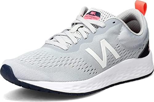 New Balance Women's, Arishi Fresh Foam v3 Running Shoe Aluminum 8.5 B