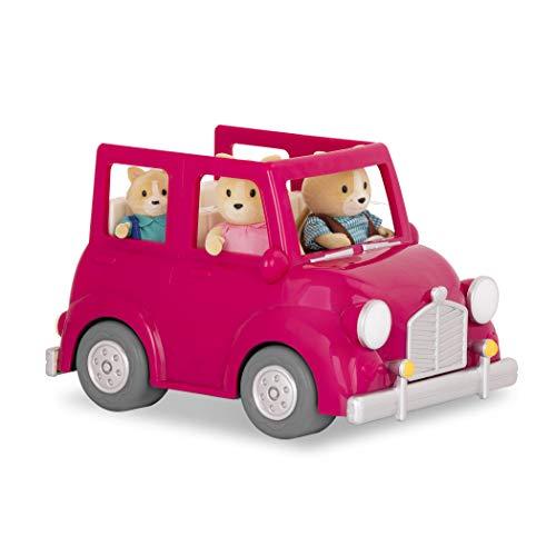Li'l Woodzeez WZ6547Z Pink Car mit Koffer