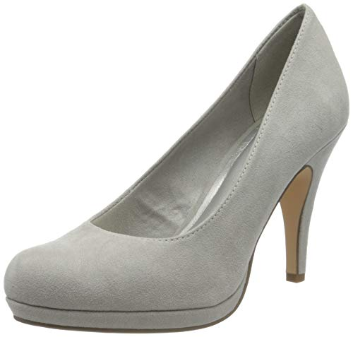 Tamaris Damen 1-1-22407-24 Pumps, Grau (Grey 200), 40 EU