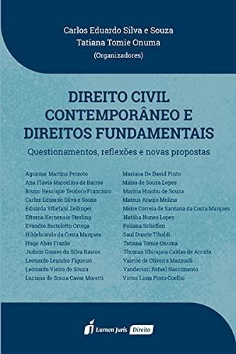 Direito Civil Contemporâneo E Direitos Fundamentais - 2021