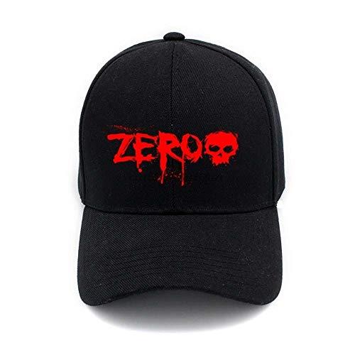 Zero Skateboard Brand Logo Men Women Plain Baseball Cap Solid Color Unisex Curved Visor Hat