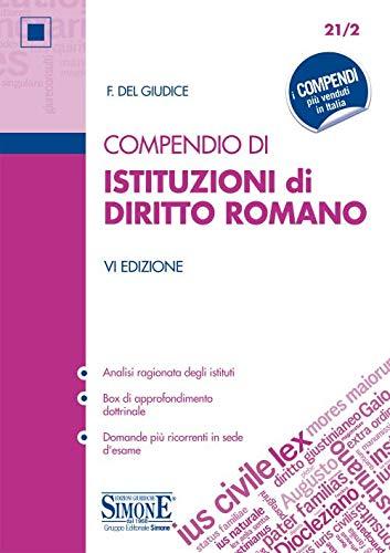 Compendio di istituzioni di diritto romano. Con Contenuto digitale per download e accesso on line