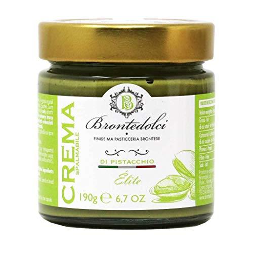 Brontedolci - Italian Pistachio Cream 'Elite' Nut Spread, 190g Jar