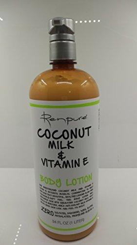 Renpure Coconut Milk & Vitamin E Body Lotion 34 fl oz