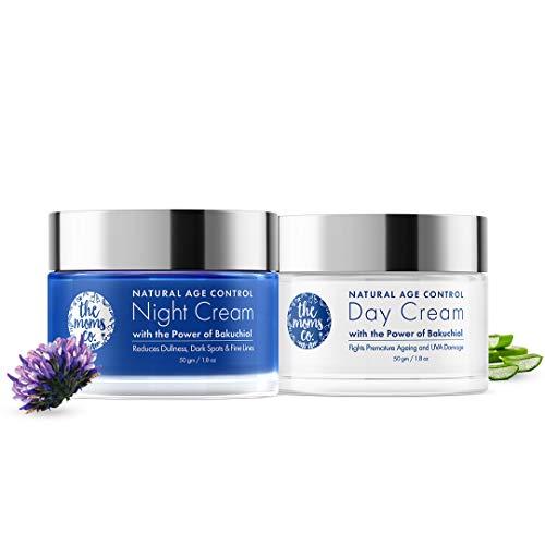 The Moms Co. Day and Night Cream Care Combo l Face Cream l Anti Ageing l Natural Retinol