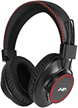 Wireless Bluetooth Headphones with Deep Bass, FM HiFi Stereo Radio Headset, Foldable Comforted Over- Ear, Micro SD Card Mp3 Player, Microphone Built-in for PC/Cellphone/Travel/Work/Kids/Adults