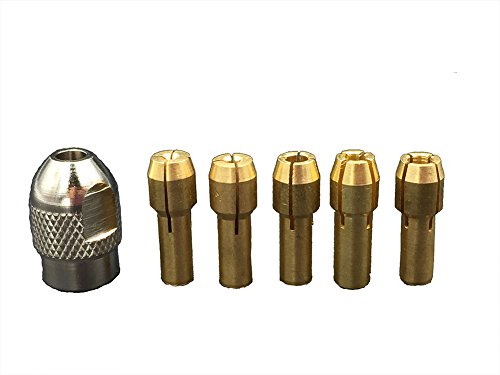 Electric Mill Grinding Tools Chuck Collet Nut Bit Set Brass Clamp head Rotary Tool Parts (4.2mm)