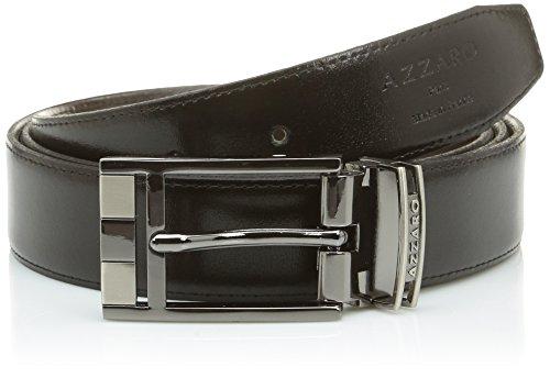 Azzaro ZCOF642 Ceinture, Noir (Noir/Marron), FR: 110 cm (Taille Fabricant: 110) Homme