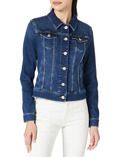 BRAX Damen Style Miami Jeansjacke, Blue Used, 34