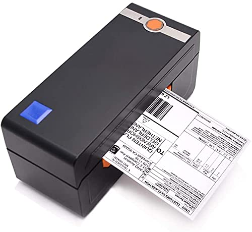 Beeprt BY426BT | Commercial Grade High Speed Thermal Label Printer for 4X6 Labels | Bluetooth Enabled | Free Label Holder | Compatible with Windows, MacOS, Android and iOS Systems | US Based Seller