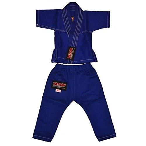 Tatami Bébé Bleu Ju Jitsu Costume (Nouveau-Né Cadeaux)