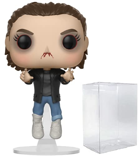 Funko Pop! Stranger Things - Punk Eleven Elevated Vinyl Figure (Bundled with Pop Box Protector Case)